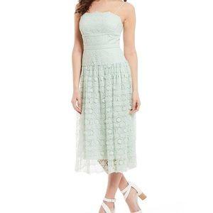 Never worn Gianni Bini Mint dress